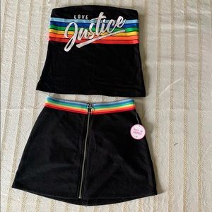 A Justice matching top and bottom set